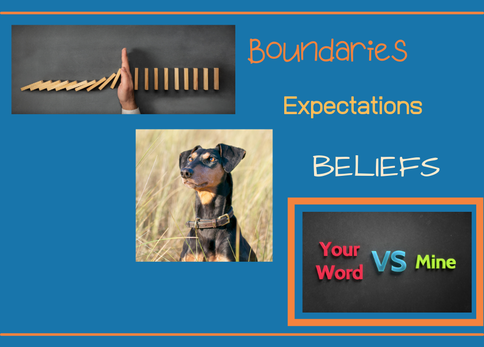 What to Do When Boundaries, Expectations and Beliefs Collide